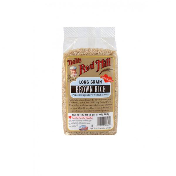 Длиннозерновой коричневый рис