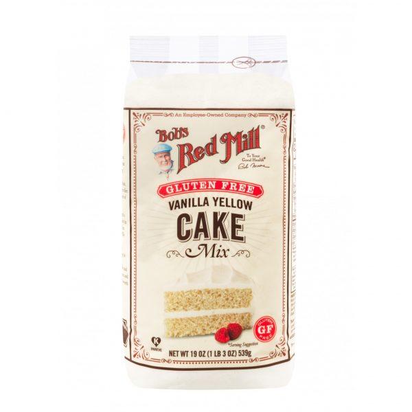 Безглютеновый ванильный микс для тортов и кексов