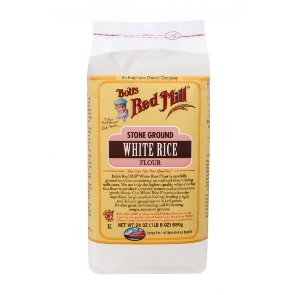 Белая рисовая мука без глютена